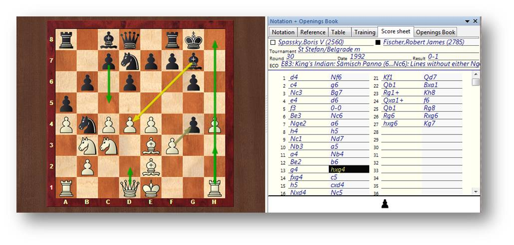Chess Score Sheet From Chess Score Sheet To Icr With Opencv And