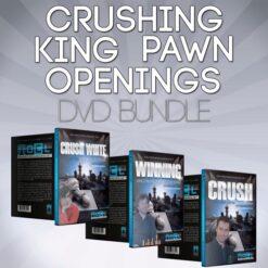 Crushing King Pawn Openings Chess DVD Bundle