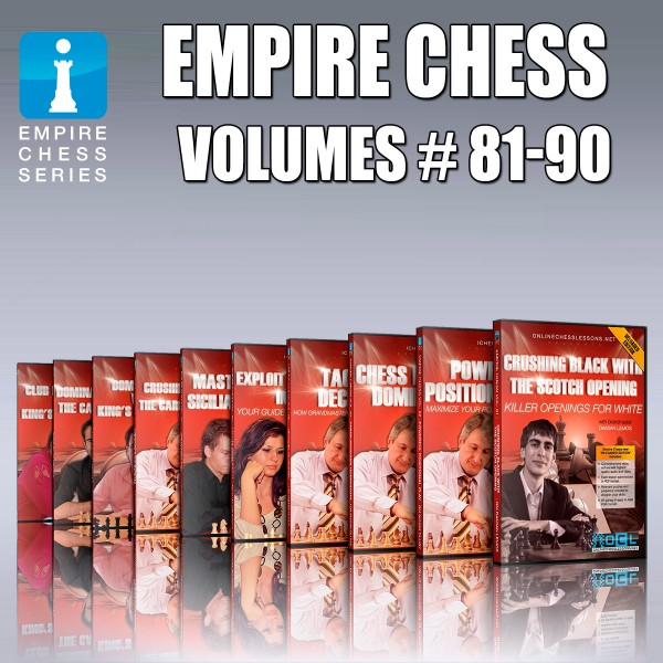 Empire Chess Collection (Volumes 81-90)