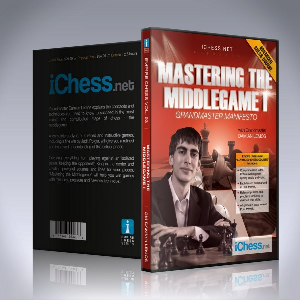 Mastering the Middlegame I – GM Damian Lemos