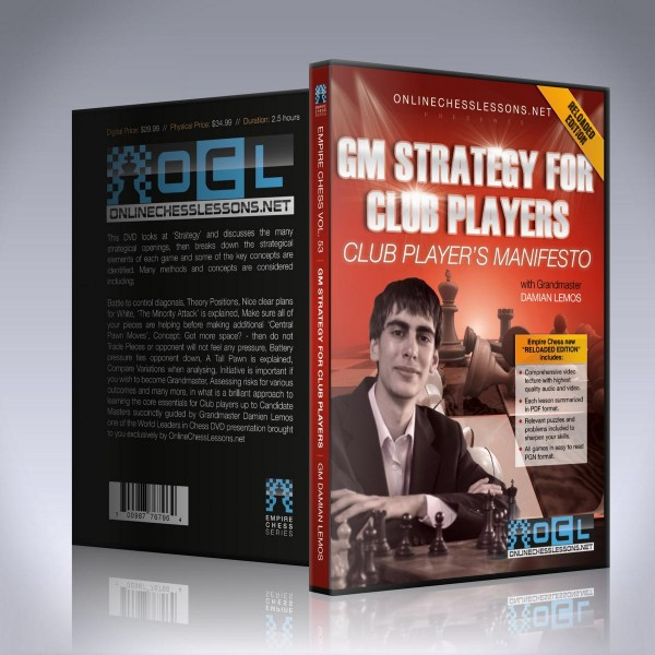 GM Strategy for Club Players – GM Damian Lemos