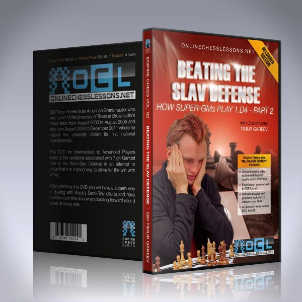 Beating the Slav Defense with the 7. g4!? Gambit – GM Timur Gareev