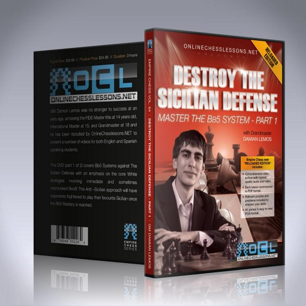 Destroy the Sicilian Defense – Master the Bb5 System – Part 1
