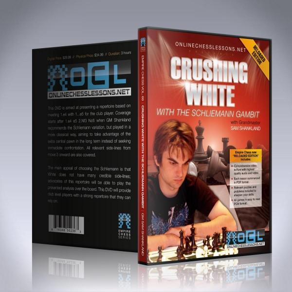 Crushing White with the Schliemann Gambit – GM Sam Shankland