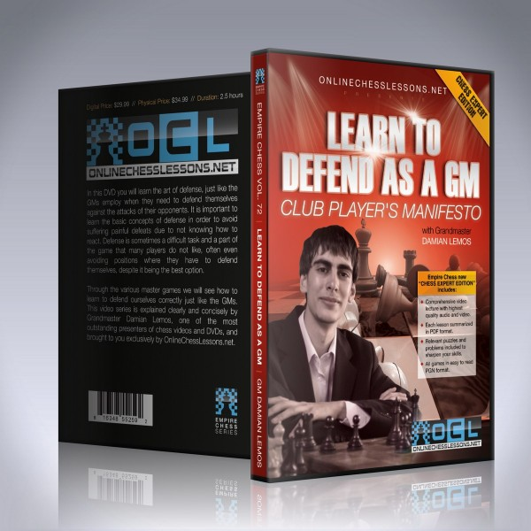 Learn to defend as a GM – GM Damian Lemos