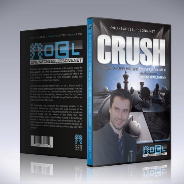 Crush the Caro-Kann with the Exchange Variation – GM Eugene Perelshteyn