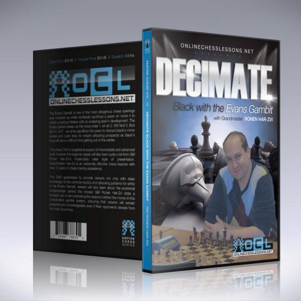 Decimate Black with the Evans Gambit – GM Ronen Har-Zvi