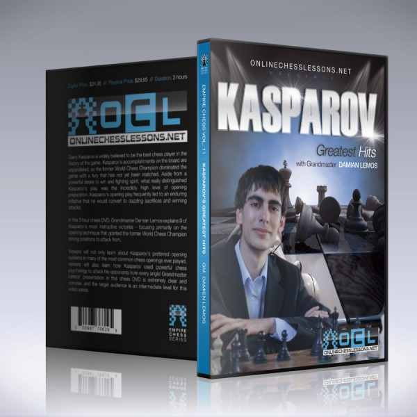 Kasparov's Greatest Hits – GM Damian Lemos