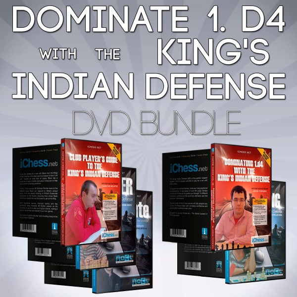 Dominate 1. d4 with the King's Indian Defense – Chess DVD Bundle