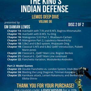 The King's Indian Defense (Lemos Deep Dive)