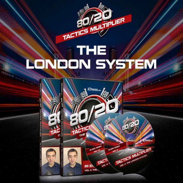 The London System – IM Eric Rosen [80/20 Tactics]