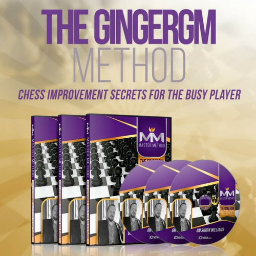 The GingerGM Method - Chess Improvement Secrets for the Busy Player
