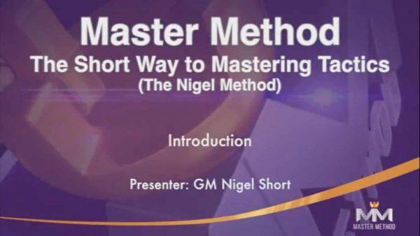 The Short Way to Mastering Tactics