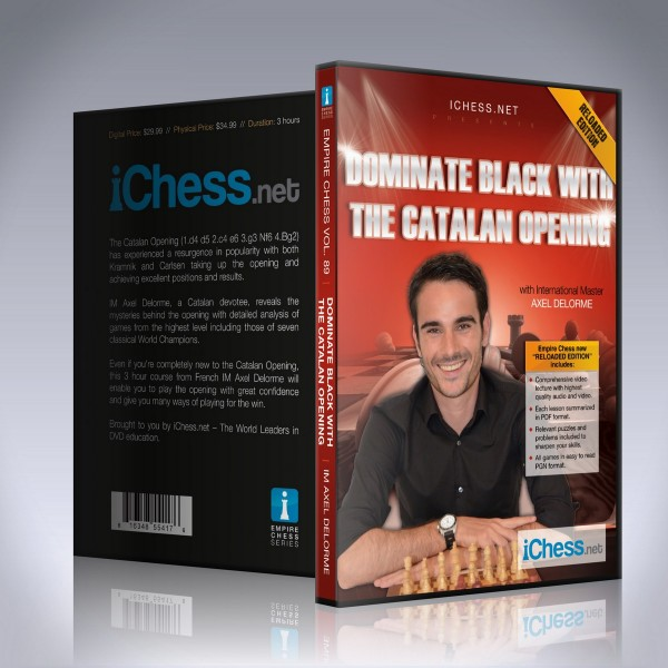 Dominate Black with the Catalan Opening – IM Axel Delorme