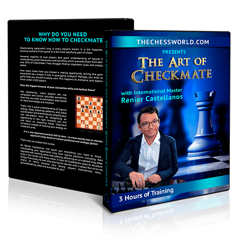 The Art of Checkmate with IM Castellanos