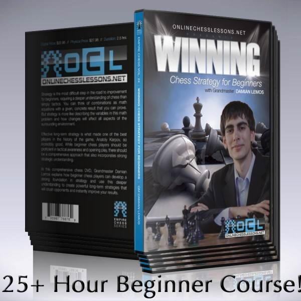 Comprehensive Beginner Chess Course