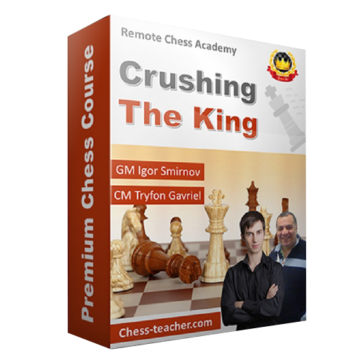 Crushing The King - GM Smirnov and CM Gavriel