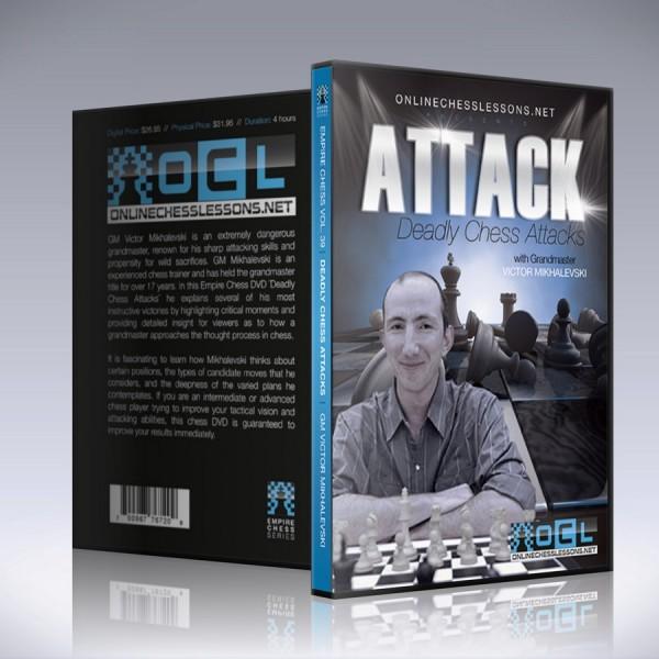 Deadly Chess Attacks – GM Victor Mikhalevski