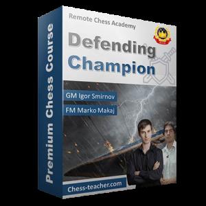 defending champion
