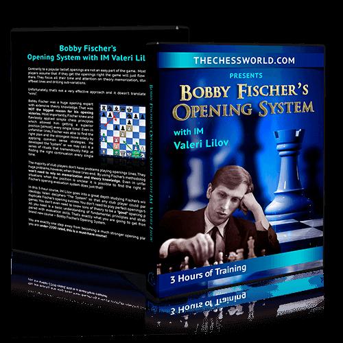 Bobby Fischer Opening System with IM Valeri Lilov