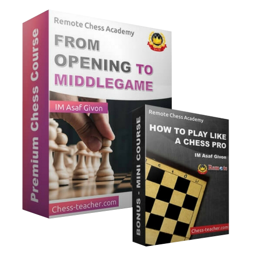 From Opening to Middlegame with IM Asaf Givon