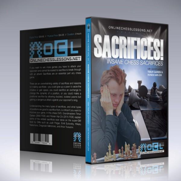 Insane Chess Sacrifices – GM Timur Gareev