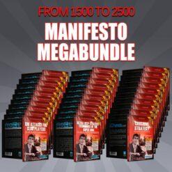 From 1500 to 2500: Manifesto MegaBundle