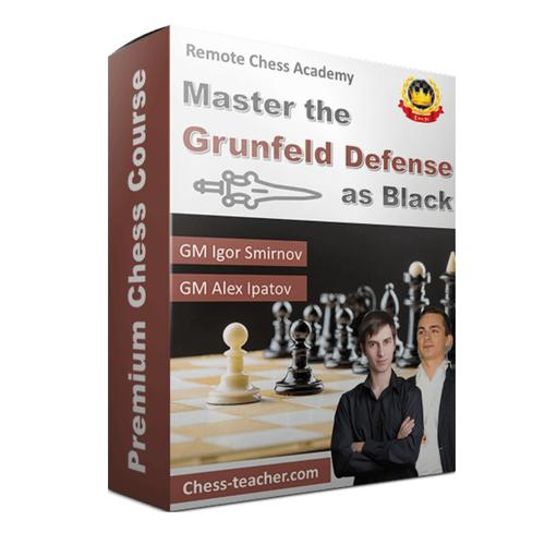 Master Grunfeld Defense with Black