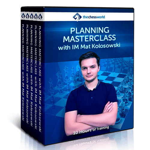 Planning Masterclass with IM Mat Kolosowski