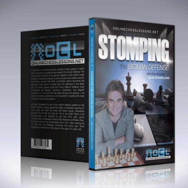 Stomping the Sicilian Defense – GM Sam Shankland
