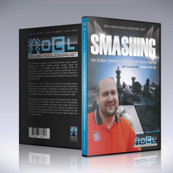 Smashing the Sicilian Defense with the Smith-Morra – GM Ronen Har-zvi