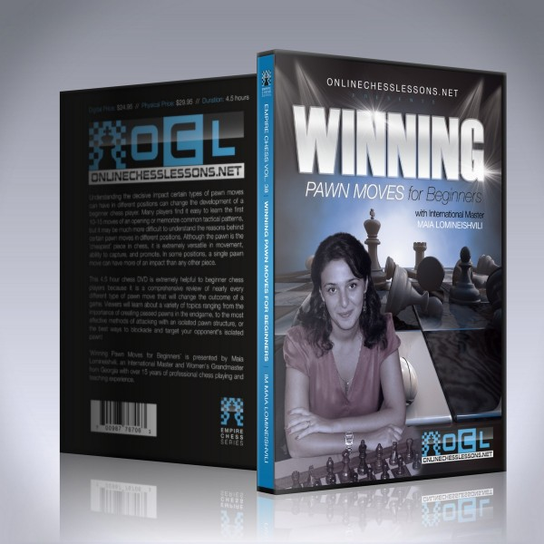 Winning Pawn Moves for Beginners – IM Maia Lomineishvili
