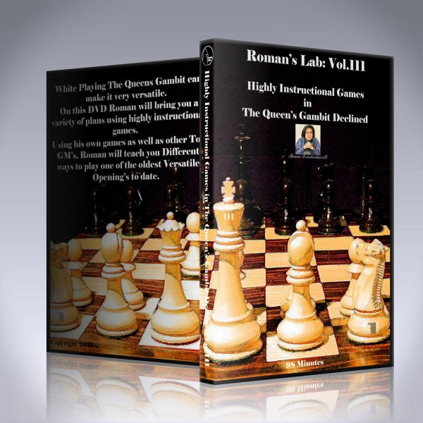 Highly Instructive Games in the Queen's Gambit Declined – GM Roman Dzindzichashvili
