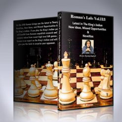 Latest in the King's Indian New Ideas, Missed Opportunities and Novelties – GM Roman Dzindzichashvili