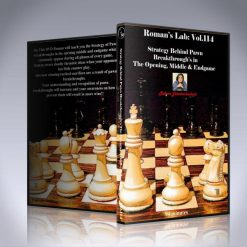 Strategy Behind Pawn Breakthroughs in the Opening, Middle and Endgame – GM Roman Dzindzichashvili