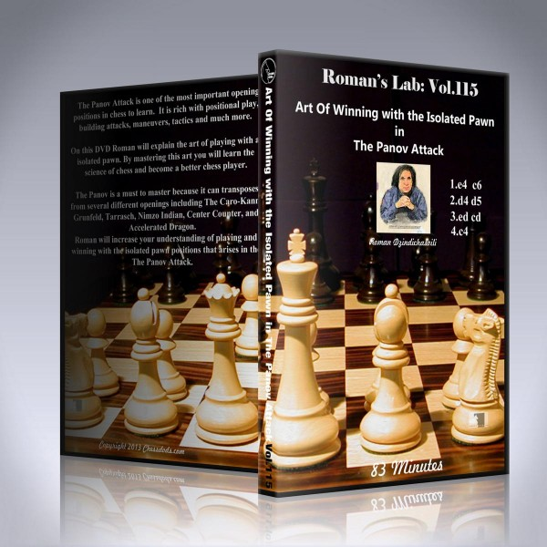 Art of Winning with the Isolated Pawn in The Panov Attack – GM Roman Dzindzichashvili