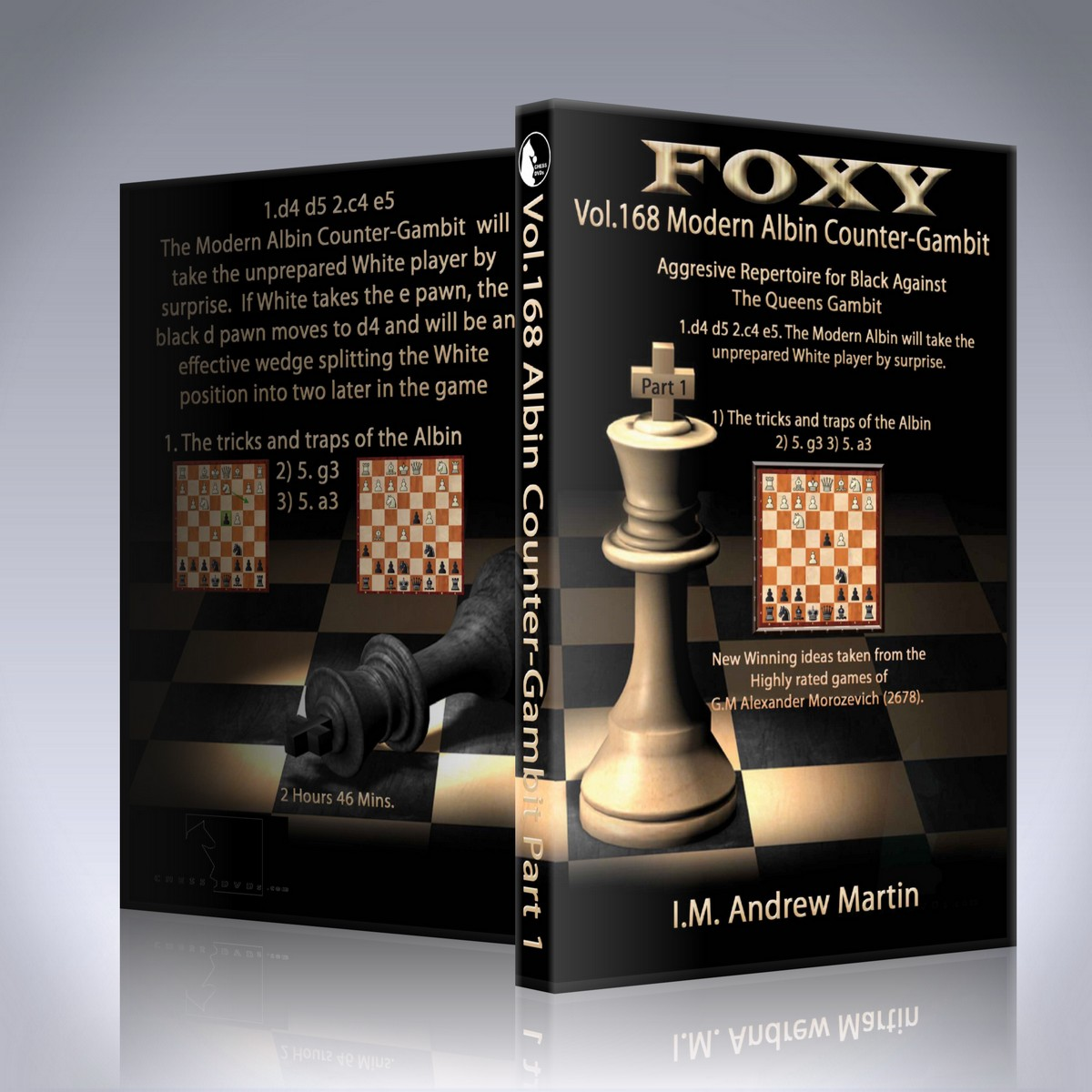 Modern Albin Counter-Gambit: Aggressive Repertoire for Black Part 1 – Andrew Martin
