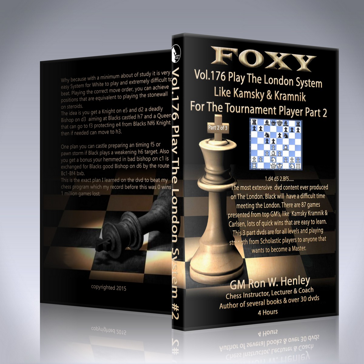 Play The London System Like Kamsky and Kramnik For The Tournament Player Part 2 – GM Ron Henley