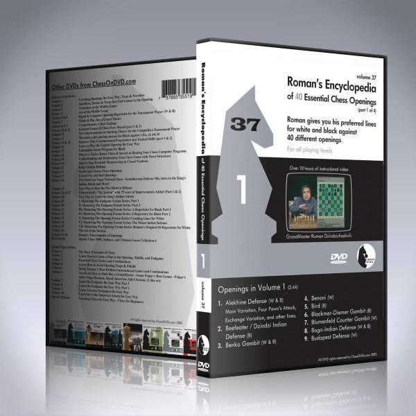 Encyclopedia of Chess Openings Vol 1 – GM Roman Dzindzichashvili