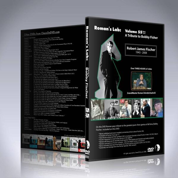 A Tribute to Bobby Fischer – GM Roman Dzindzichashvili