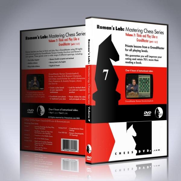 Think and Play like a Grandmaster – GM Roman Dzindzichashvili