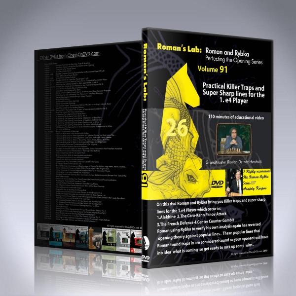 Practical Killer Traps and Super Sharp Lines for the 1.e4 Player – GM Roman Dzindzichashvili2