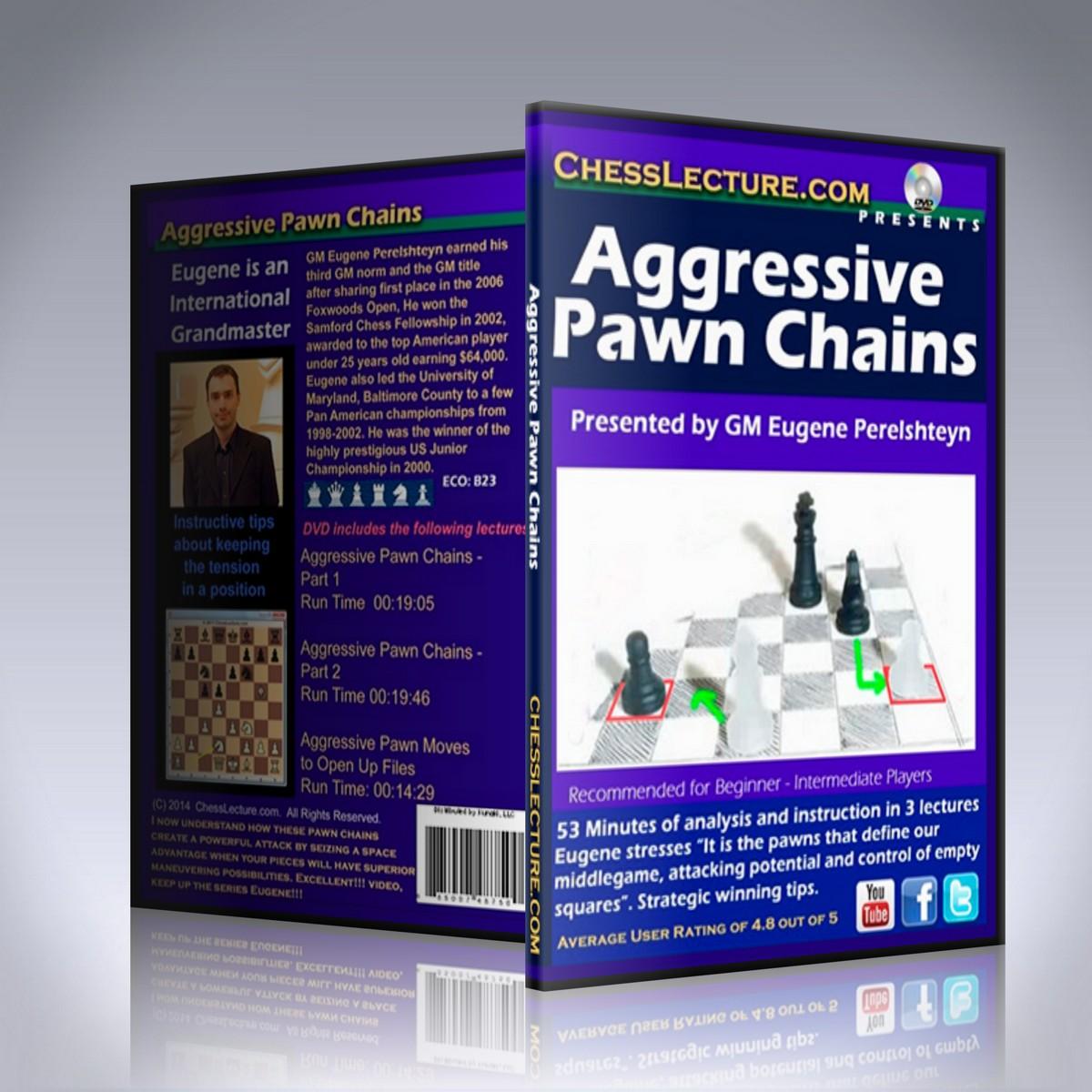 Aggressive Pawn Chains – GM Eugene Perelshteyn
