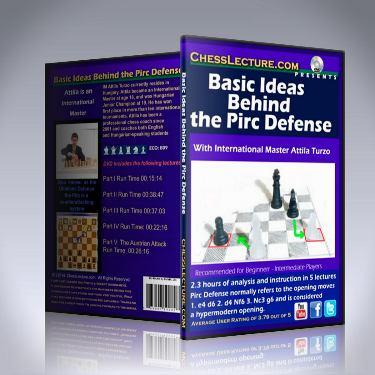 Basic Ideas Behind the Pirc Defense – IM Attila Turzo