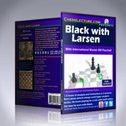 Black with Larsen – IM Bill Paschall