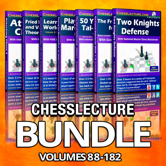 ChessLecture DVD Collection Volumes 88-182