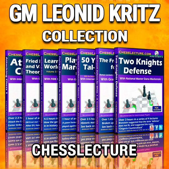 GM Leonid Kritz Collection ChessLecture