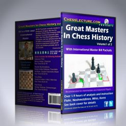 Great Masters in Chess History 2 DVD set – IM Bill Paschall