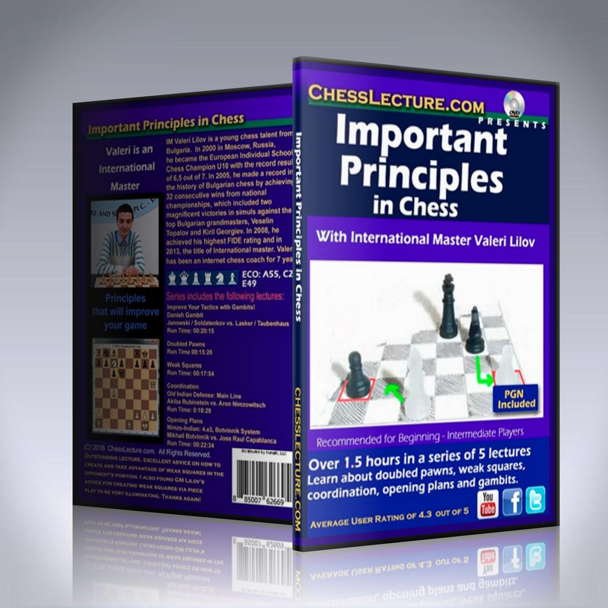 Important Principles in Chess – IM Valeri Lilov