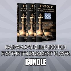 Kasparov's Killer Scotch For The Tournament Player Bundle – GM Ron Henley